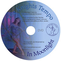 In Moonlight DVD Label